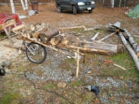 Firewood Wheelbarrow