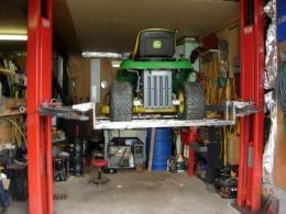 Homemade Mower Lift Adaptor