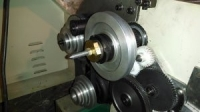 Lathe Headstock Work Stop