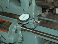 Dial Indicator Base and Saddle Stop