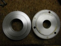 Threaded Spindle Backing Plates
