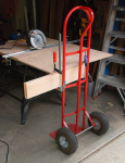 Mobile Work Table Extension