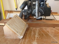 Radial Arm Saw Beveling Jig