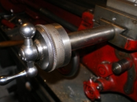 Extended Feed Screw and Hand Wheel