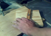 Circle Cutting Guide for a Table Saw