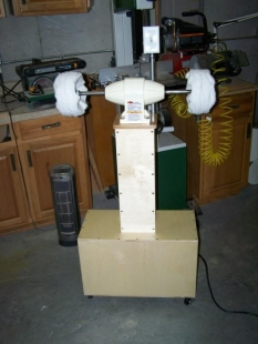 diy buffing machine
