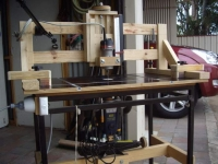 Overhead Router System