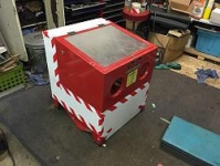 Sandblast Cabinet Enlargement