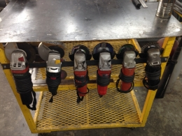 Homemade Grinder Rack Homemadetools Net