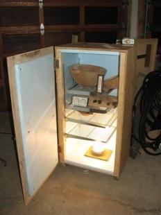 Homemade Drying Kiln - HomemadeTools.net