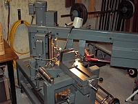 Swivel-Head Bandsaw