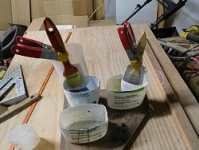 Paintbrush Cleaning Holders