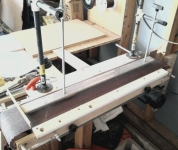 Belt Sander and Radius Jig