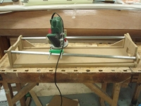 Twisted Neck Routing jig