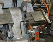 Bench Grinder Sliding Rest