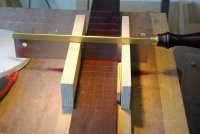 Miter Box Fret Slotting Jig