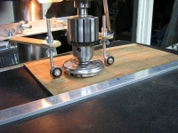 Drill Press Planing Setup