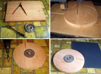 Wood Lathe Disc Sander