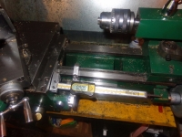 Lathe Saddle Travel Indicator
