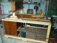 Wood Workbench