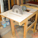 Combination Disc Sander Router Table