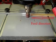 Drill Press Thickness Sander