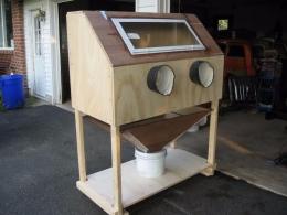 Homemade Sandblasting Cabinet - HomemadeTools.net