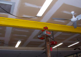 Homemade overhead shop crane for Shop hoist plans