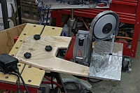 Portable Bandsaw Vertical Bracket