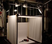 Light Box and Spray Booth