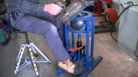 Adjustable Welding Table