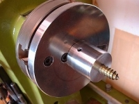 Eccentric Screw Chuck