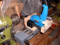 Wood Lathe Drill Attachment
