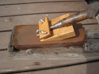Chisel Sharpening Jig