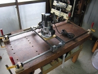 X-Y Router Table