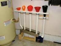 Funnel Storage Drain System