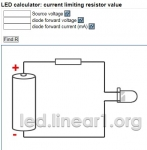 LED Resistor Calculator