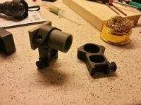 IR Flashlight Camera Mount