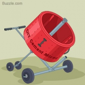 How To Make A Cement Mixer Cake
