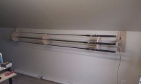 Fishing Rod Dryer
