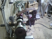 Lathe Belt Grinder Attachment