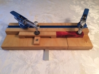 Pen Blank Bandsaw Cutting Sled
