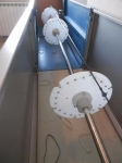 Fishing Rod Dryer and Wrapper
