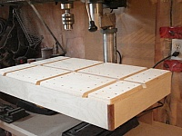 Dovetailed Drill Press Table