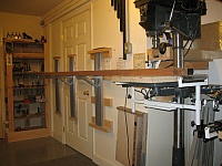 Long Piece Support System