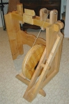 Flywheel Treadle Lathe
