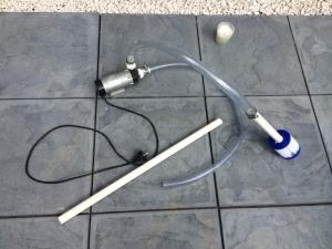 Homemade Pool Vacuum Cleaner