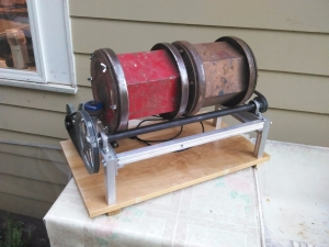 Homemade Rock Tumbler - HomemadeTools.net