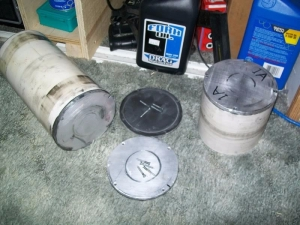 Homemade Rock Tumbler Barrels