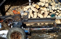 Kinetic Log Splitter